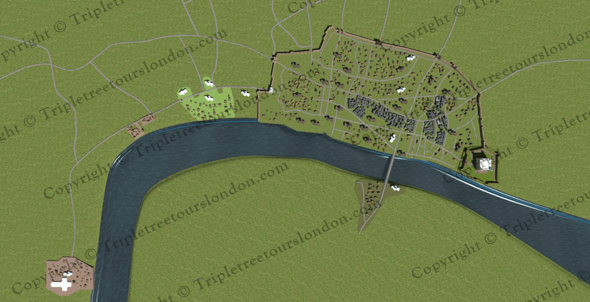 Anglo Saxon London Tower & Lundenwic